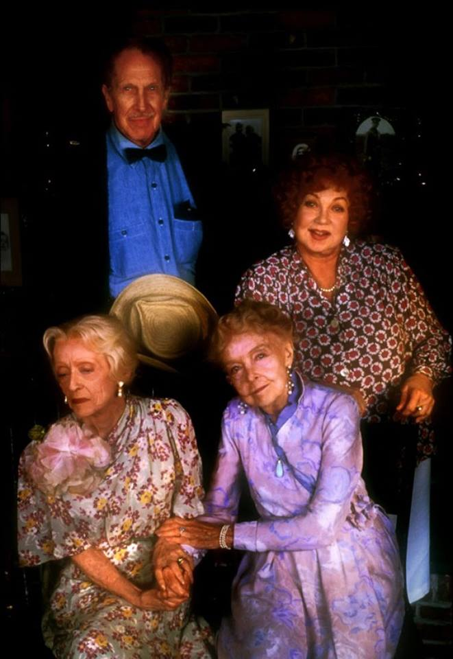 Lillian Gish, Bette Davis, Vincent Price and Ann Sothern - The Whales of August, 1987