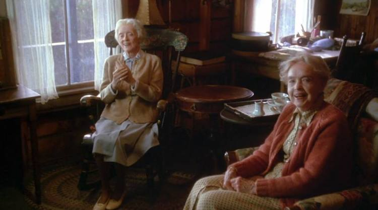 Bette Davis and Lillian Gish - The Whales of August