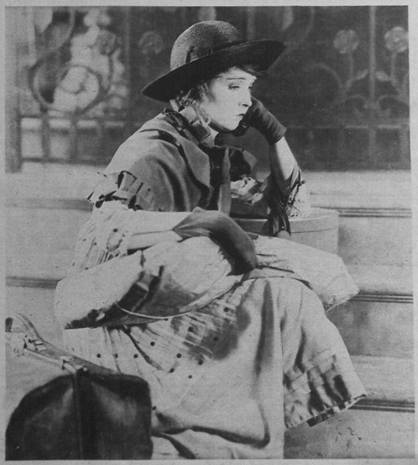 Cine Miroir Octobre 1922 - Way Down East - Lillian Gish - cropped detail