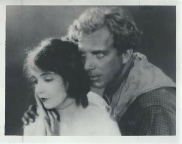 Lillian Gish and Lars Hanson, publicity photo for The Wind (Letty Mason and Lige Hightower)