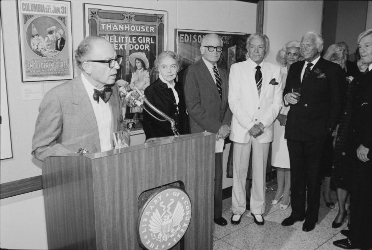 opening of the mary pickford theater, james madison building, library of congress