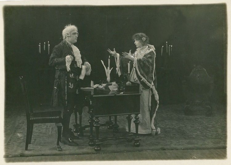 Stage Role - cca 1918