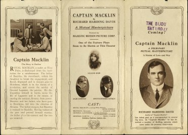 captain macklin (mutual, 1915). herald