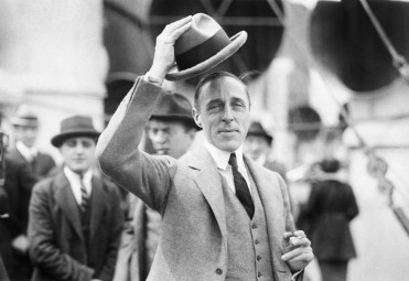 D.W. Griffith, internationally known movie director and producer, greets the press in this 1922 photo before sailing for Europe. (AP Photo)