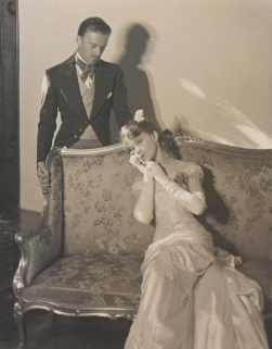 Laura Gilpin (1891-1979); Camille--Gish, Lillian, [And] Raymond Hackett [Made at Chappell Home, Denver]; 1932; Platinum print; Amon Carter Museum of American Art, Ft Worth, Texas, Bequest of the Artist; P1979.140.193