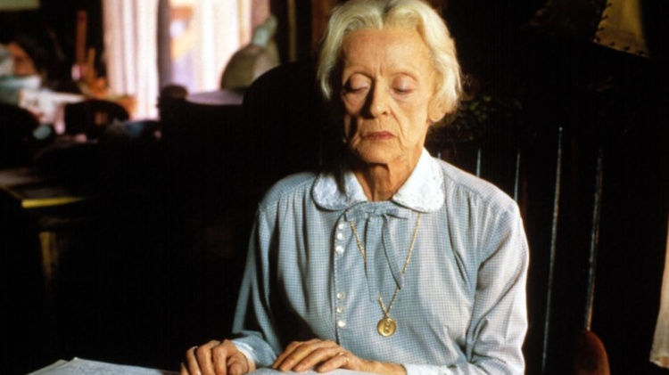 Bette Davis in The Whales of August 1987 V