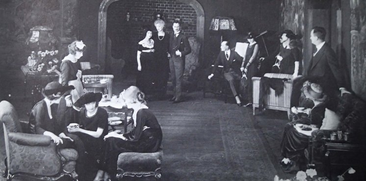 Dorothy Gish and James Rennie (Dorothy and Lillian Gish by Lillian Gish) - Remodeling Her Husband