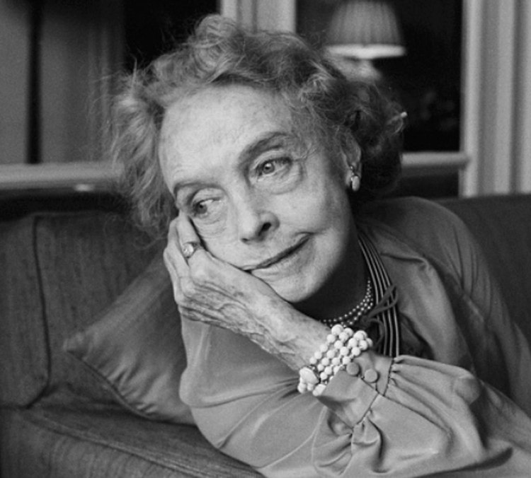 Lillian Gish in the 80's