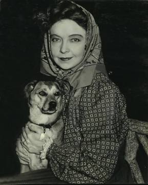Lillian Gish in Commandos Strike at Dawn (1942) - promotional
