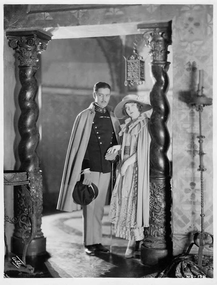"""Ronald Colman and Lillian Gish in """"The White Sister"""""""